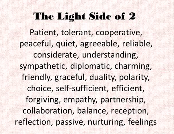 The Ligth Side of the 2