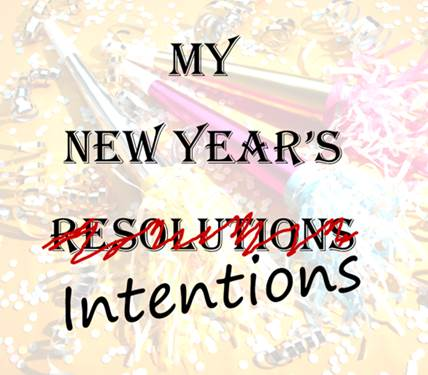 New Year's Intentions